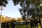 8ein klassisches Stuttgarter Polizeiaufgebot, in Massen