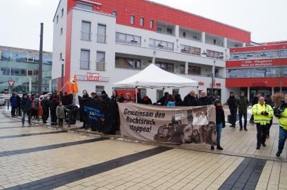 Antifaschistische Kundgebung