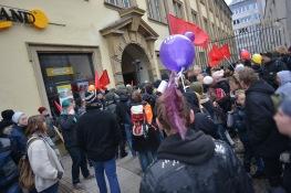 Protest vor rechtem Auftakt