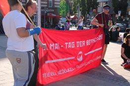Kundgebung Marienplatz
