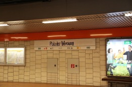 neue U-Bahn station