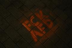 FCK AFD Stencil