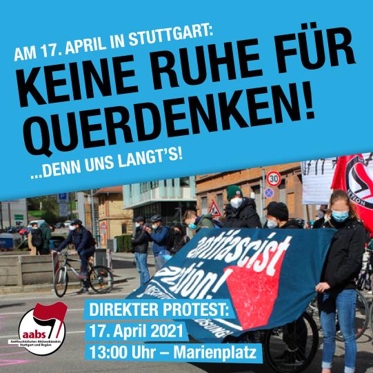 Protest 17.04.21. Marienplatz