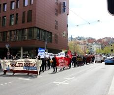 Demostart vom Marienplatz