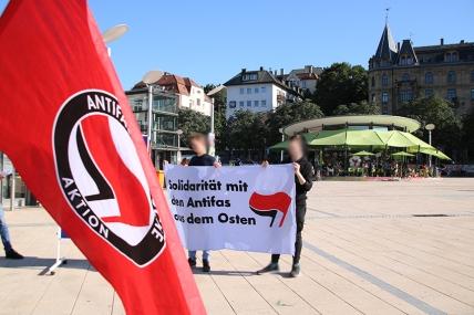 Solidarität mit den Antifas im Osten